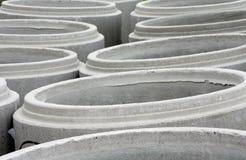 Concrete circle Stock Images