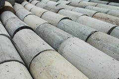 Concrete circular bar. Stock Image