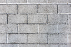 Concrete or cobble gray pavement slabs or stones. Royalty Free Stock Image