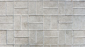 Concrete or cobble gray pavement slabs or stones. Stock Photography