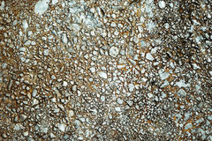 Concrete conglomerate Stock Photography