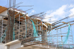 Concrete construction Stock Photography