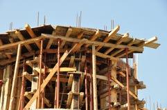 Concrete construction site Stock Image