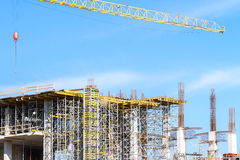 Construction site Royalty Free Stock Photos