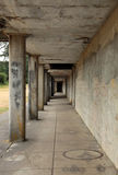 Concrete Corridor Royalty Free Stock Images