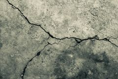 Concrete crack texture background. Stock Photo