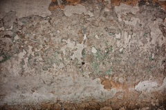 Concrete cracked wall Stock Images