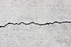 Concrete Cracks Stock Images