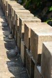 Concrete cube Stock Image