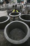 Concrete culvert Royalty Free Stock Photography
