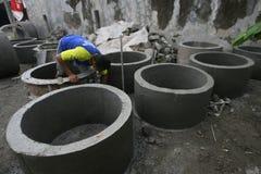 Concrete culvert Stock Photography