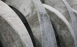 Concrete Curves Royalty Free Stock Photography
