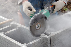 Concrete cutting Stock Photos