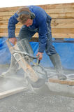 Concrete cutting Stock Photography