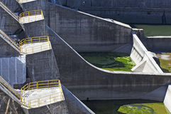 Concrete dam Royalty Free Stock Photography