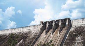 Concrete dam Stock Photos
