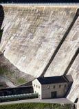 Concrete dam Royalty Free Stock Photos
