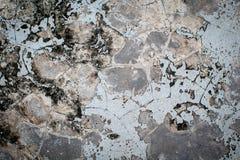 Concrete de muurachtergrond van Grunge Royalty-vrije Stock Afbeeldingen