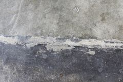 Concrete de Textuur Vuile Achtergrond van het Vloercement Royalty-vrije Stock Afbeeldingen