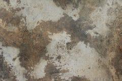 Concrete de Textuur Vuile Achtergrond van het Vloercement Stock Afbeelding