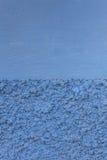 Concrete de verfachtergrond van de muur cyaan blauwe textuur royalty-vrije stock foto's