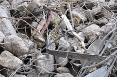 Concrete debris Stock Photos