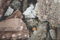 Concrete Debris Royalty Free Stock Photography