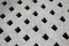 Concrete decorated Royalty Free Stock Image