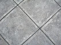 Concrete diamonds Stock Images