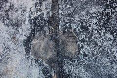 Concrete die oppervlakte met bitumen wordt bevlekt Royalty-vrije Stock Afbeeldingen