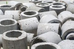 Concrete Drainage Pipe Royalty Free Stock Images