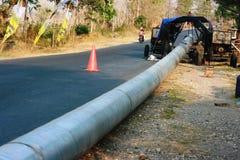 Concrete drainage tank Royalty Free Stock Photo