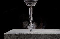 Concrete Drill Bit Royalty Free Stock Photos