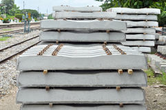 Concrete dwarsbalk Royalty-vrije Stock Fotografie