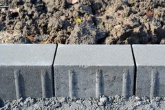 Concrete edge Royalty Free Stock Images