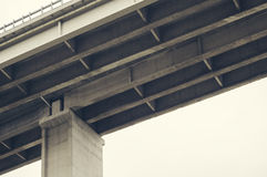 Concrete Elevated Highway Overpass Royalty Free Stock Photos