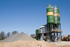 Concrete fabriek Stock Foto