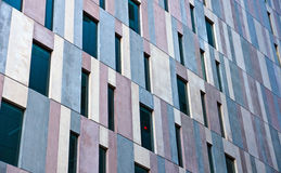 Concrete facade of an office building Stock Photography