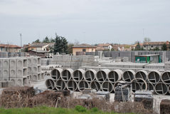 Concrete Factory 3 Stock Images