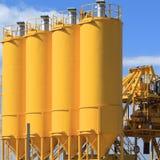 Concrete factory. Stock Photo