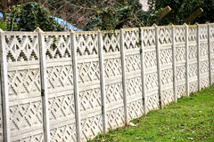 Concrete fence Royalty Free Stock Images