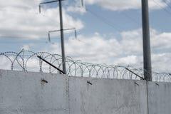 Concrete fence Stock Photos