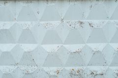 Concrete fence, old wall covered with mud from the rain, autumn background. Raw concrete with a pattern. Royalty Free Stock Photos