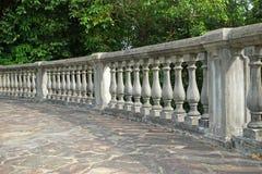 Concrete Fence Stock Image