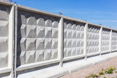 Concrete fence Royalty Free Stock Image