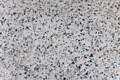 Concrete filled with gravel Stock Image