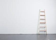 Concrete floor and ladder Stock Photos