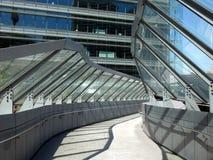 Concrete Footbridge Royalty Free Stock Images