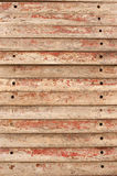 Concrete form boards Stock Photography