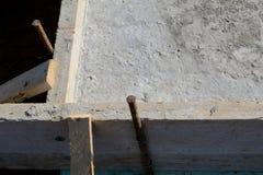 Concrete formwork Stock Image